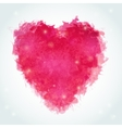Abstract watercolor heart Ink vector image