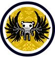 death logo vector image