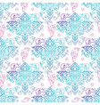 seamless patterns russian motives of northern vector image
