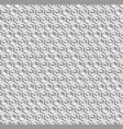 grayscale hexagonal seamless pattern vector image