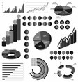 background material infographics vector image
