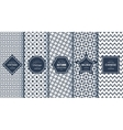 Blue line seamless patterns for universal vector image