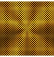 Background with Circular Gold Metal Texture vector image vector image