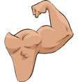 strong hand vector image