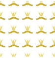 Wheats Ribbon Seamless Pattern vector image