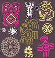 american indian ornament vector image