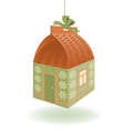 Little House Gift vector image