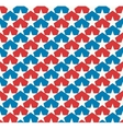 American stars flag vector image