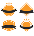 Set of Badge and Labels vector image