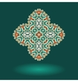 Oriental ornamental design Tribal indian motif vector image