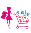 fashion sale vector image