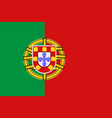 national symbol of portugal flag vector image