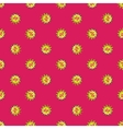 percentage signs seamless pattern Sale vector image
