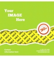 Sale design background vector image