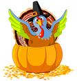 Pilgrim Turkey vector image