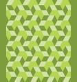 green rhombus seamless vector image