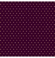 seamless pattern with dots of gold and dark vector image