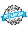 superstar stamp sign seal vector image