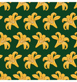 Tiger Lilies Seamless Texture vector image
