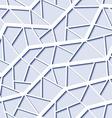 Seamless mesh pattern vector image vector image