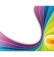 abstract colorful rainbow background vector image