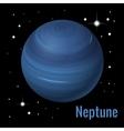 Neptune planet 3d High vector image