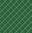 Seamless cross green shading diagonal pattern vector image vector image