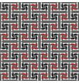 labyrinth pattern vector image vector image