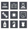 Icons for Web Design set 42 vector image