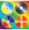 compact discs vector image vector image