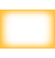 Yellow Orange blur Copyspace Background vector image