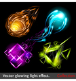 light symbols vector image