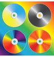 compact discs vector image