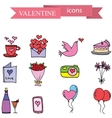 valentine element stock vector image
