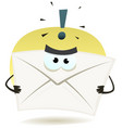 angry email icon vector image