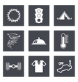 Icons for Web Design set 43 vector image vector image