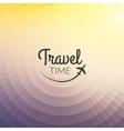 Summer travel Design Blurred pixelate background vector image