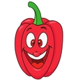 Fresh bell pepper cartoon vector image
