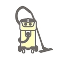 icon of vacuum cleaner vector image
