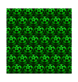 Mosaic green background vector image