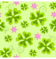 saint Patrick's day seamless pattern vector image