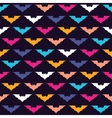 Colorful bats vector image