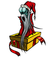 Ghost of Christmas Past or The Spirit of Christmas vector image