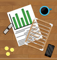 calculate finance marketing vector image
