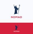 Nomad bedouin logo vector image