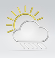 Wire weather vector
