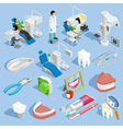 Dentist Icons Set vector image