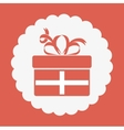 surprise gift design vector image