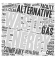Some Suppliers of Alternative Energy text vector image