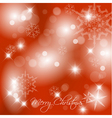 christmasbackground2010red vector image vector image